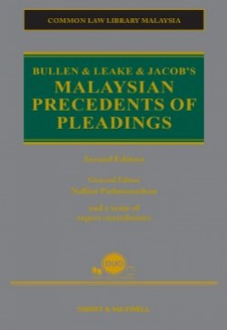 Bullen & Leake & Jacob's Malaysian Precedents of Pleadings - 2nd Edition