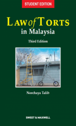 Law of Torts in Malaysia - 3rd Edition (Student Edition)