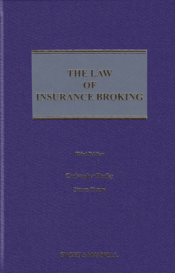 The Law of Insurance Broking - 3rd Edition