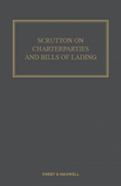 Scrutton on Charterparties and Bills of Lading - 24th Edition